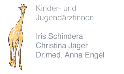 Kinderärztinnen Iris Schindera, Christina Jäger, Dr.med. Anna Engel